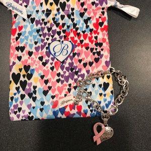 NWT Brighton breast cancer awareness bracelet